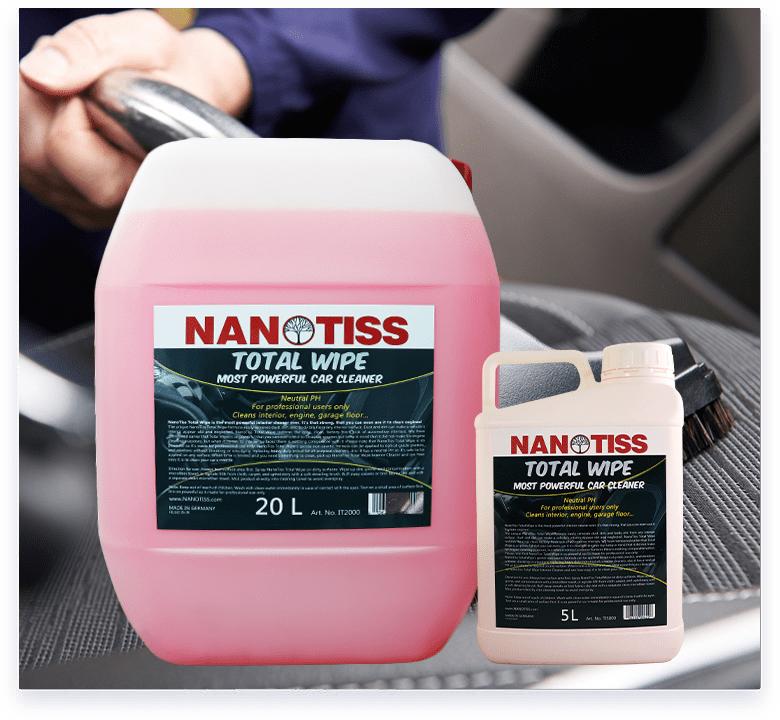 NanoTiss Total Wipe